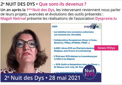 Un an après la 1ère Nuit des Dys… Que sont-ils devenus ? Dyspraxie.lu