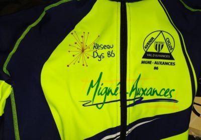 Remerciement au Club cyclo ACVA de Migné-Auxances